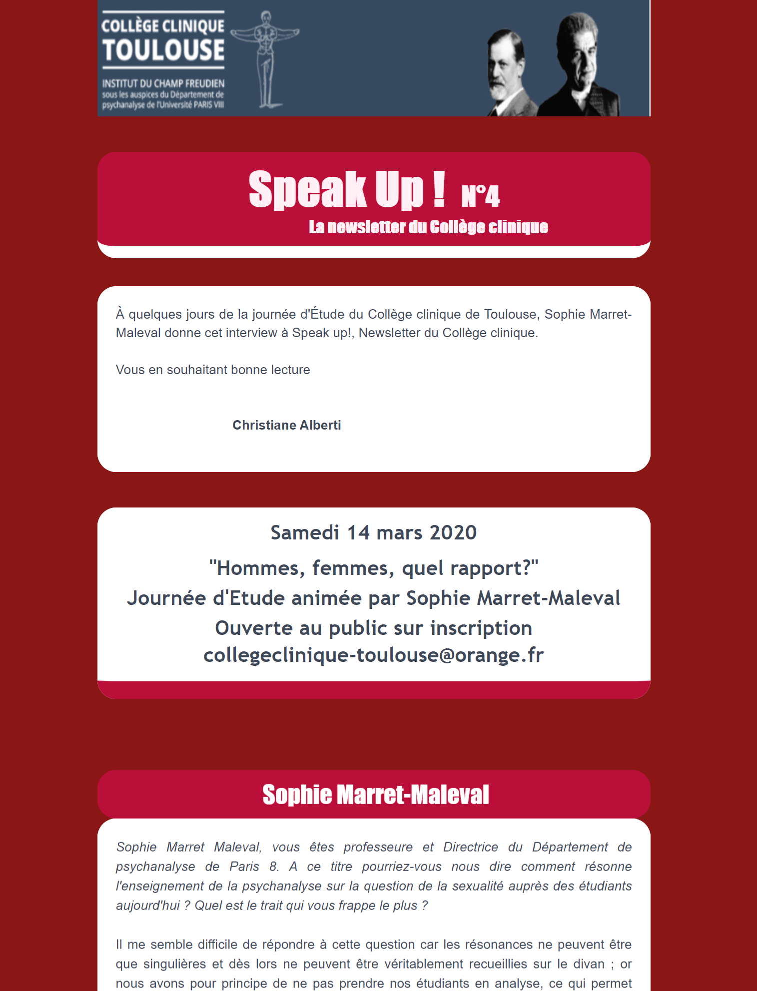 speak up 4