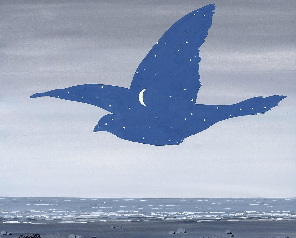 Le Baiser - Tableau de Magritte