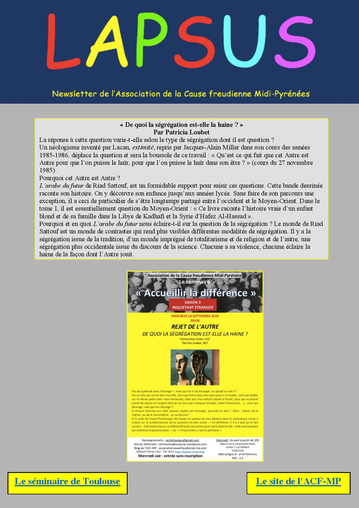 Seminaire Toulouse