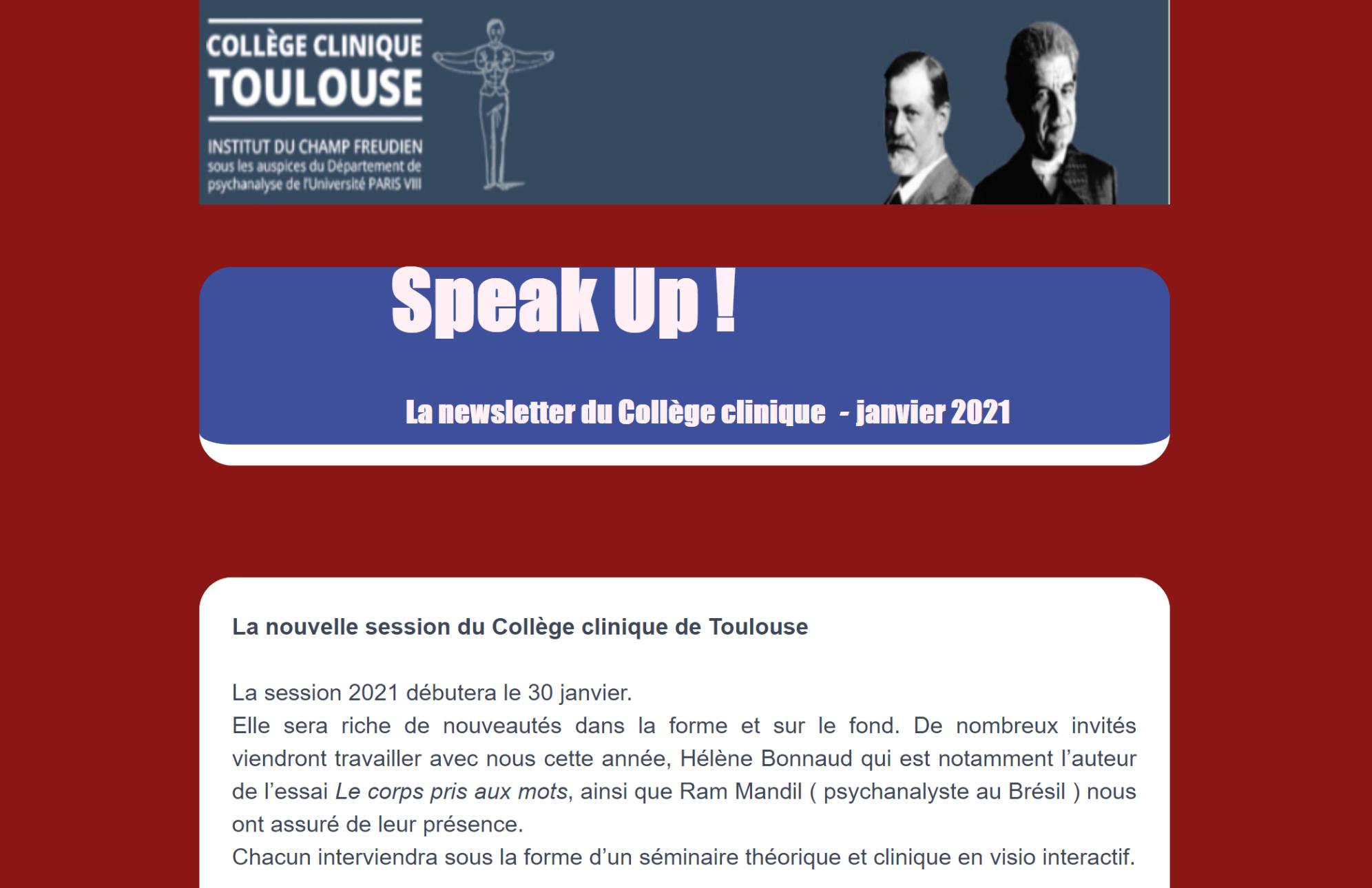 Speak up 8
